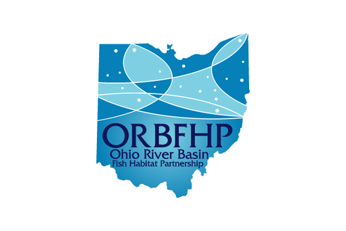 Ohio River Basin Fish Habitat Partnership or ORBFHP A Logo, Monogram, or Icon  Draft # 129 by ACEdesign