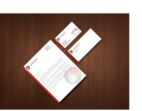 business cards, letterhead and envelopes Business Cards and Stationery  Draft # 49 by akreationz