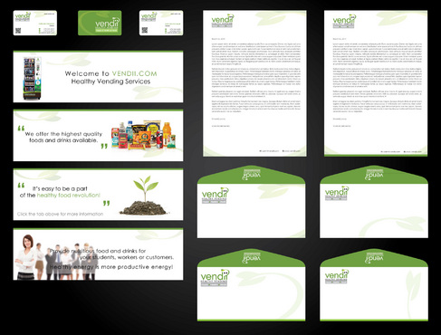 biz card, stationary and 4 graphics