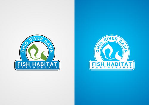 Ohio River Basin Fish Habitat Partnership or ORBFHP A Logo, Monogram, or Icon  Draft # 138 by lucifer