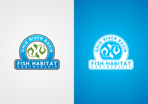Ohio River Basin Fish Habitat Partnership or ORBFHP A Logo, Monogram, or Icon  Draft # 139 by lucifer
