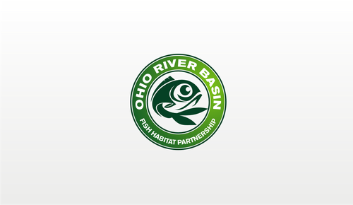 Ohio River Basin Fish Habitat Partnership or ORBFHP A Logo, Monogram, or Icon  Draft # 140 by danoeadjie