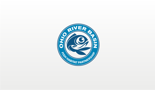 Ohio River Basin Fish Habitat Partnership or ORBFHP A Logo, Monogram, or Icon  Draft # 141 by danoeadjie