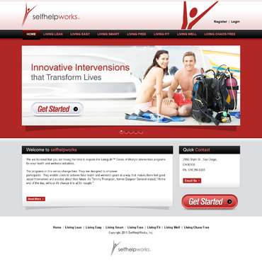 •	Your stomach is not the issue for your weight problems, it's your mind.   Web Design  Draft # 7 by dynamikdezyn