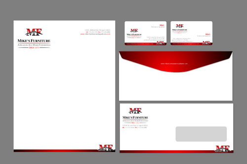 Stationary, Letterhead, Business Cards, Envelopes Business Cards and Stationery  Draft # 17 by adekinar