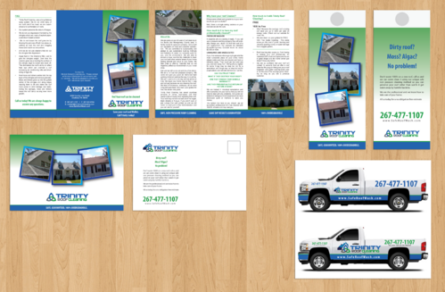 Brochures and truck wrap Marketing collateral  Draft # 6 by jameelbukhari