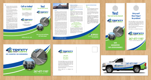 Brochures and truck wrap Marketing collateral  Draft # 7 by jameelbukhari