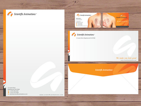 Medical Graphic business cards and stationary