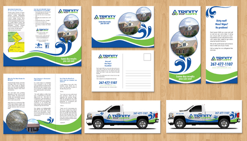 Brochures and truck wrap Marketing collateral  Draft # 13 by jameelbukhari