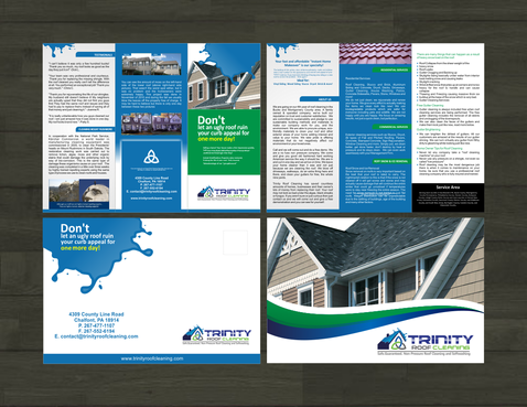 Brochures and truck wrap Marketing collateral  Draft # 15 by BIMPOP