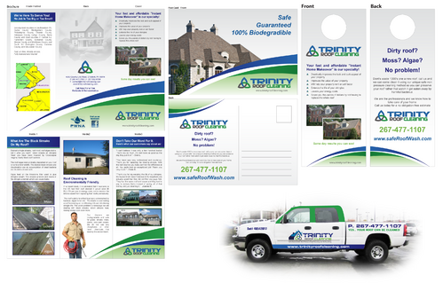 Brochures and truck wrap Marketing collateral  Draft # 20 by XtremeCreative2