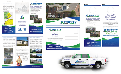 Brochures and truck wrap Marketing collateral  Draft # 21 by XtremeCreative2