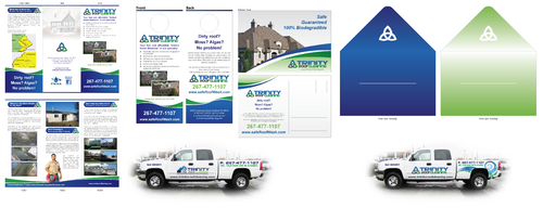 Brochures and truck wrap Marketing collateral  Draft # 22 by XtremeCreative2