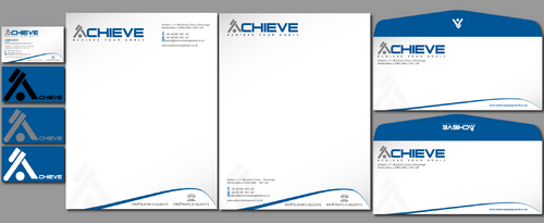 Top football (soccer) agency needs business cards, letterheads, envelopes. Microsoft Word templates!