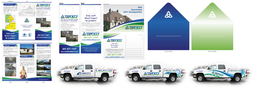 Brochures and truck wrap Marketing collateral  Draft # 30 by XtremeCreative2