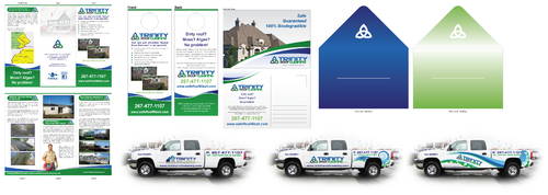 Brochures and truck wrap Marketing collateral  Draft # 31 by XtremeCreative2