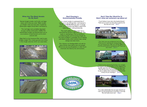 Brochures and truck wrap Marketing collateral  Draft # 42 by pattoh