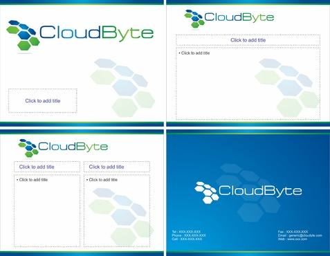 CloudByte Powerpoint