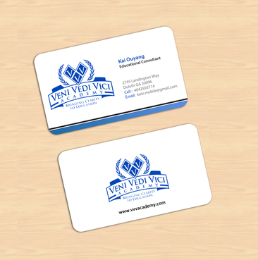 Bringing Clarity To Education Business Cards and Stationery  Draft # 7 by einsanimation