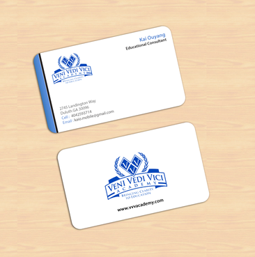 Bringing Clarity To Education Business Cards and Stationery  Draft # 8 by einsanimation