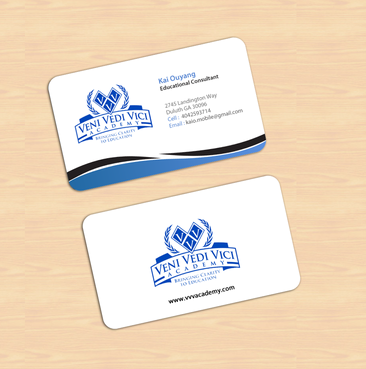 Bringing Clarity To Education Business Cards and Stationery  Draft # 11 by einsanimation