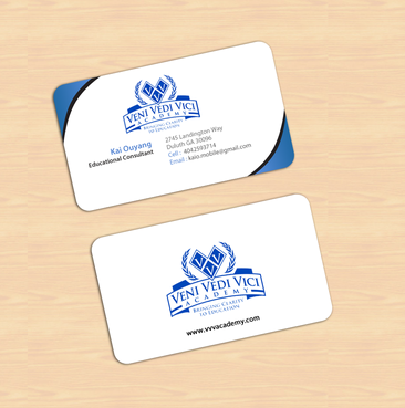 Bringing Clarity To Education Business Cards and Stationery  Draft # 12 by einsanimation