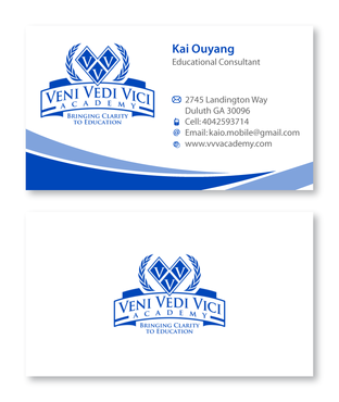 Bringing Clarity To Education Business Cards and Stationery  Draft # 16 by XtremeCreative2
