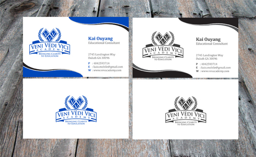 Bringing Clarity To Education Business Cards and Stationery  Draft # 18 by Achiver