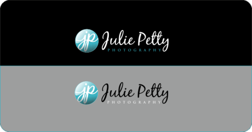 "Symbol of design to be JP with ""ulie"" & ""etty"" incorporated & word ""photography"""