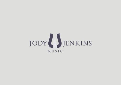 Jody Jenkins Music Logo Winning Design by fixdesign