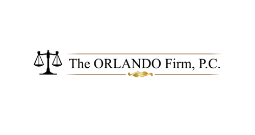 The ORLANDO Firm, P.C.  (This full text does not necessarily have to appear as part of the logo)