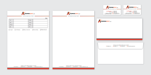 Business Cards, Letterhead & Fax Cover