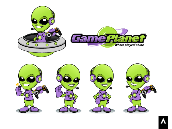 I need a logo for Game Planet  - Video Gaming Logo