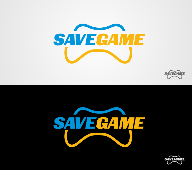 Save Game Logo - Video Gaming Logo