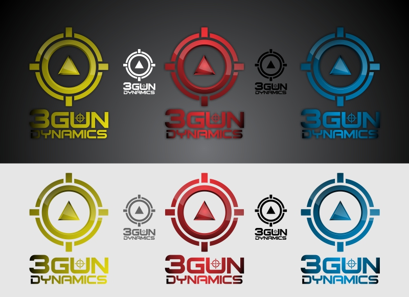 New Logo for 3 Gun Dynamics - Sports Logo