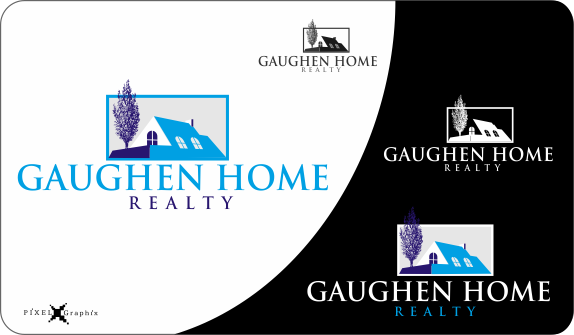 I need a logo for Gaughen Home Realty  - Real Estate Logo