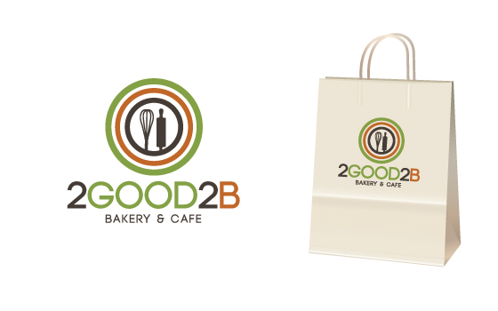 Business logo for 2Good2B Bakery and Cafe - Food Logo