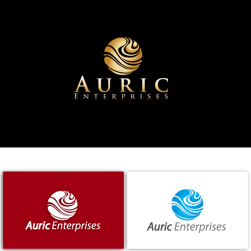 Business Logo for Auric Enterprises - Jewelry Logo