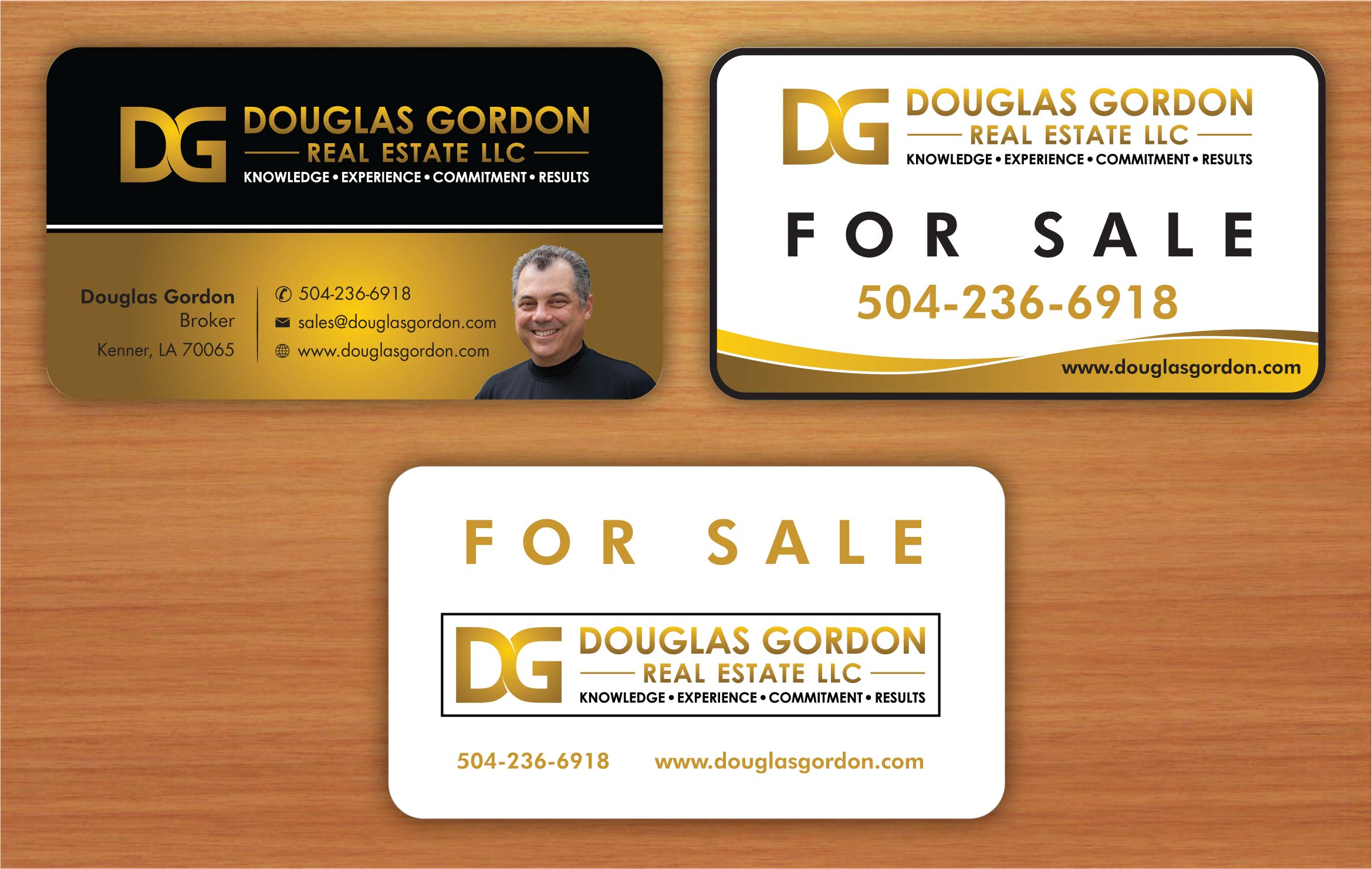 Business card front and back - Real Estate