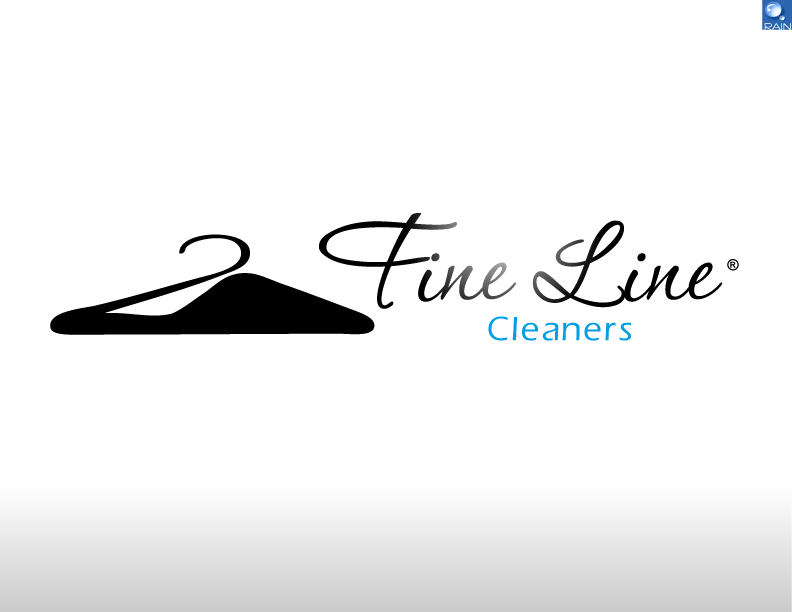 Business Logo - Fine Line Cleaners - Cleaning Logo