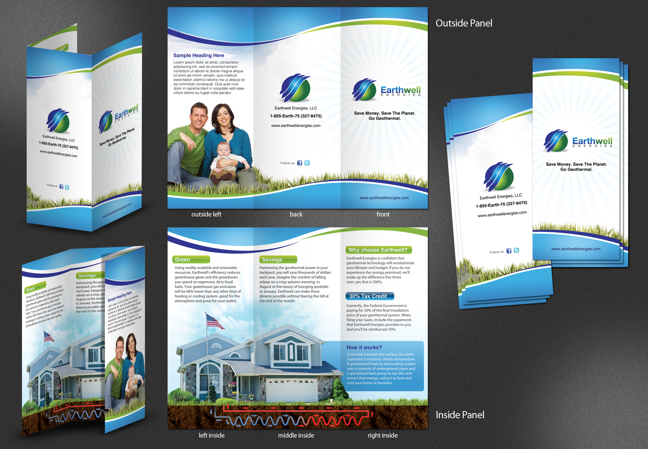 Brochure for Geothermal Company - Energy