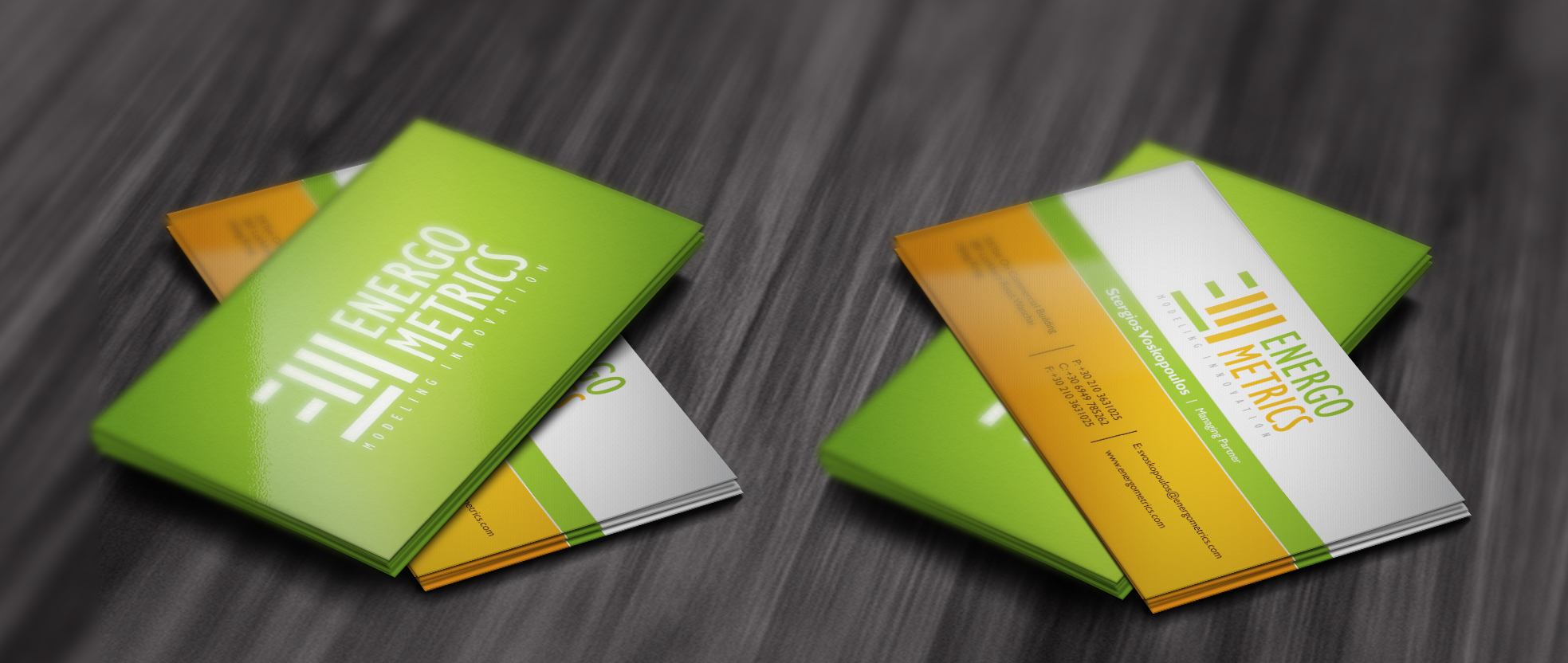 ENERGOMETRICS - Business Cards and Stationery - Consulting