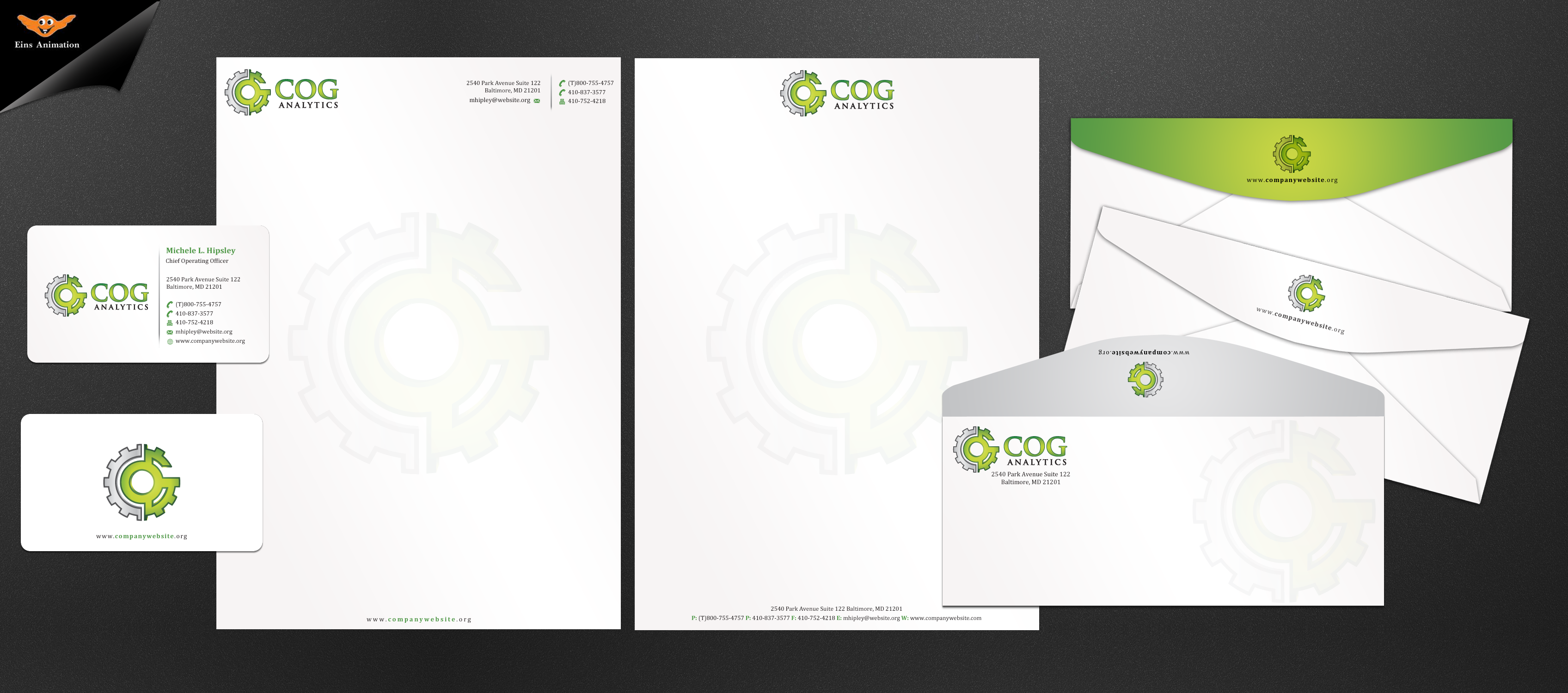 Business Cards and Stationery for social/behavioral research and technology company - Research and Development