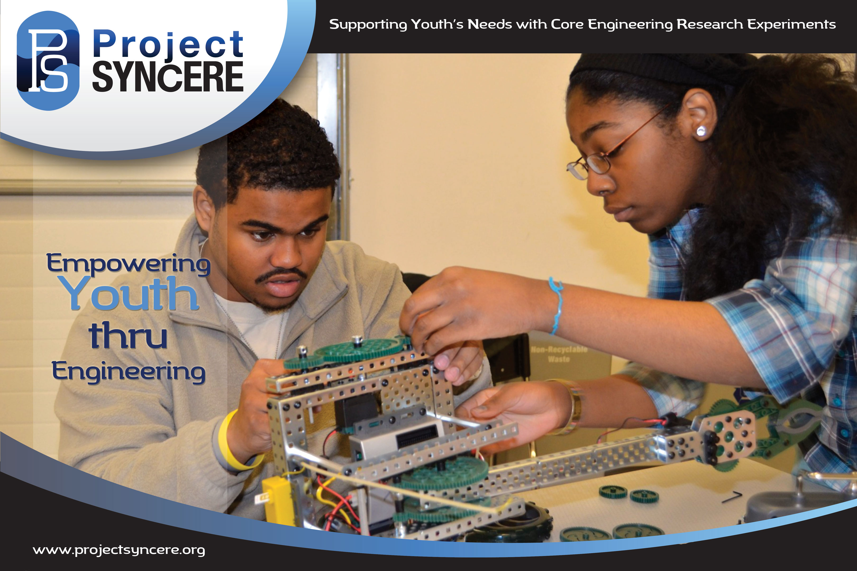 Engineering and Technology Poster Display for Project SYNCERE - Education
