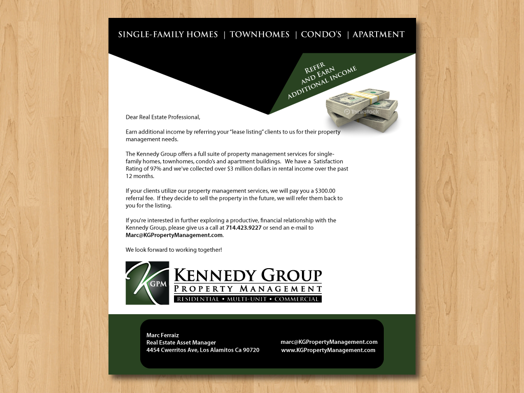 E Mail Template Design for Property Management - Real Estate