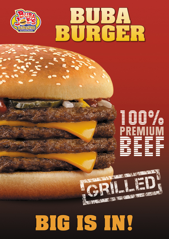 MULTIPLE WINNERS: Burger posters for fast food restaurant - Food