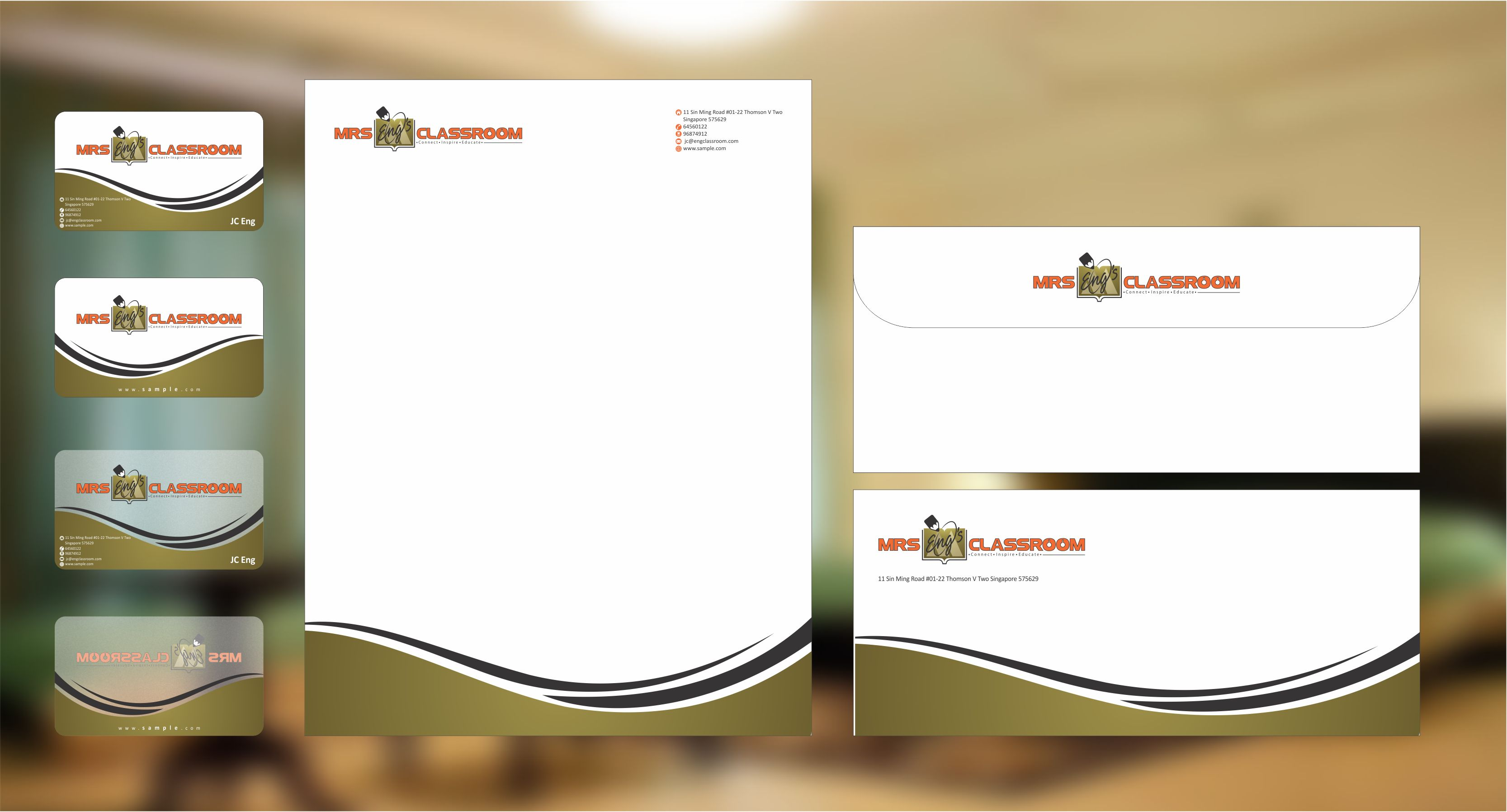 Business card for tuition centre - Education