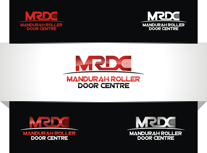 Logo for Mandurah Roller Door Centre - Construction Logo