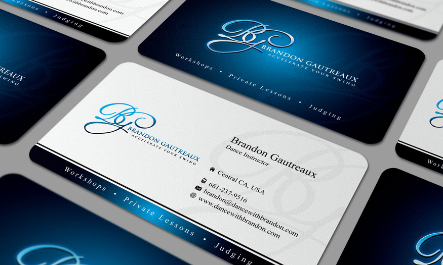 Business Card for Personal Dance instructor - Entertainment