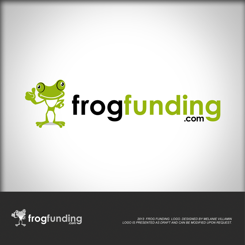 Logo design for Frogfunding.com - Transportation Logo